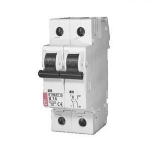 ETI Installatieautomaat B karakteristiek 25A 2p incl nul 2TE 433001131