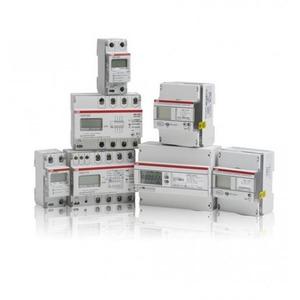 ABB ENERGIEMETER 3 FASE DIRECT 80A KLASSE B, 2 INGANG / 2 UITGANG, MID M-B