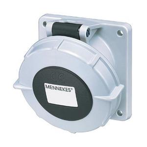 Mennekes INBOUWCONTACTDOOS 32A4P 7H500V IP67, FLENS 85X85MM