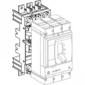 Schneider Electric SOKKEL 4P VOOR UITTREKBARE VERSIE