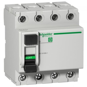 Schneider Electric MULTI9 ID 4P 63A 300MA A-SI TYPE IEC