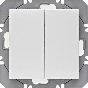 Berker Berker.Net KNX-RF wandzender 2-voudig batterij S/B pwit gl.
