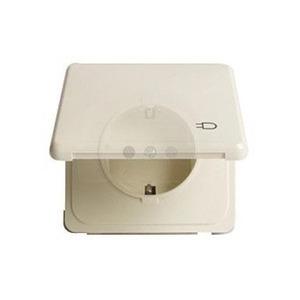 Peha Standard wandcontactdoos RA 1V Cremewit/elektrowit 00452811