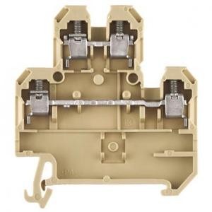 Weidmuller SAK Verbindingsrijgklem 0,5-6mm²  eendr. 0,5-4mm² meerdr. Beige 0527660000