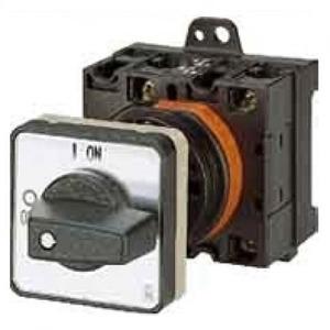 Eaton Aan-uit-schakelaar, 3p, Ie=12A, FS 0-1, 90°, 48x48mm, tussenbouw