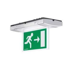 Eaton Blessing 8w opbouw permanent dubbelzijdige signalering (+vluchtwegverlichti