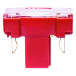 Berker Gloeilampelement met N-klem Basiselement en rood
