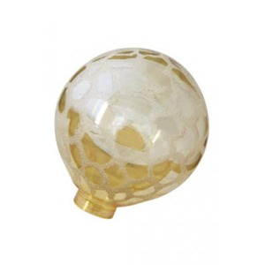 Bailey Glass Bulb G125 Gold Kroko Ice for LED Stick