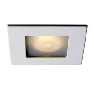 Lumiance INSET TREND SQUARE OPAAL IP44 ES50 50W 25° STAAL