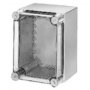 Eaton Kast, CI, HxBxD=250x187.5x150mm, deksel transparant, gladde zijden