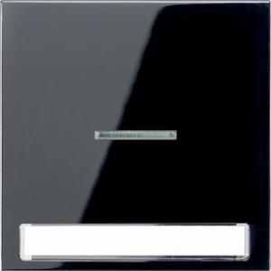 Jung LS range bedieningselement Aan-/uit-schakelaar Enkele wip Zwart LS990NAKO5SW