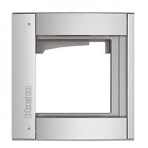 Bticino Sfera Afdekraam 1V Verticaal Aluminium IP54 BT350211