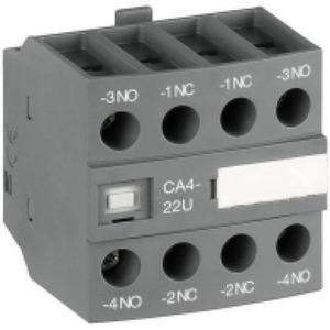 ABB Hulpcontact frontmontage 4blok 3no+1nc tbv magneetschakelaar af09 af16..