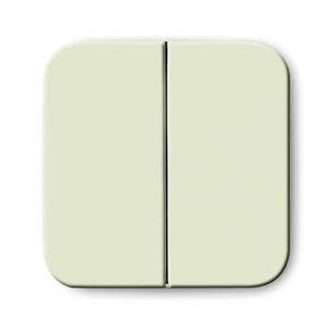 ABB Busch-Jaeger SI bedieningselement Aan-/uit-schakelaar Tweedelige wip Crèmewit (elektrowit) 2CKA001731A0363