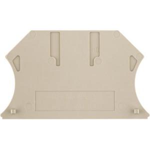 Weidmuller Wap wdu/wtr4/zr w-series accessories end plate dark beige 1.5 mm