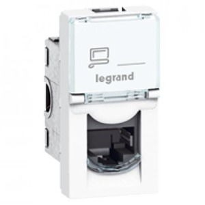 Legrand MOSAIC 1XRJ45 STP CAT6 1M