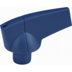 Eaton Draaigreep, 8mm, directe opbouw, blauw