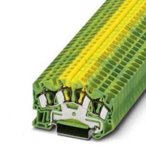 Phoenix Contact STS aardrijgklem 0,14-4mm Groen/geel 3031694