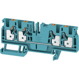 Weidmuller FEED-THROUGH TERMINAL BLOCK, PUSH IN, 4 MM², 8 V, 32 A, NUMBER OF CONN