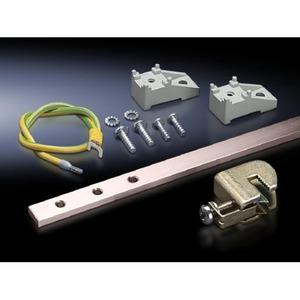 Rittal DK aansluitrail 15x5mm 20-aansluiting 200A Staal 7547000