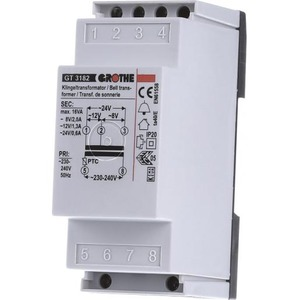 Grothe beltransformator 240V 8V 710082