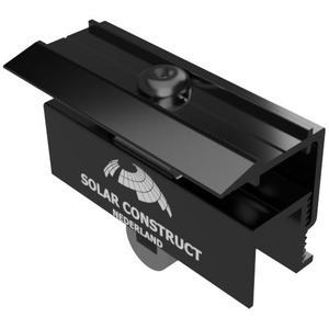 Solar Construct eindklem 35mm zwart 4219350114