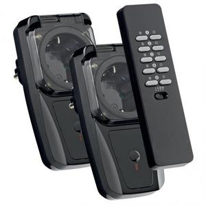 KlikAanKlikUit afstandsbediening+stekkerdoos schakelaars (buiten)