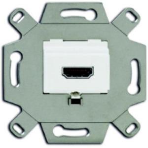 ABB Busch-Jaeger HDMI AANSLUITDOOS ALPINWIT