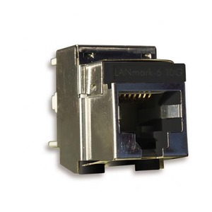 NCS LANMARK-6 10G EVO SNAP-IN CONNECTOR CAT 6 500MHZ SCREENED STRANDED WIRE