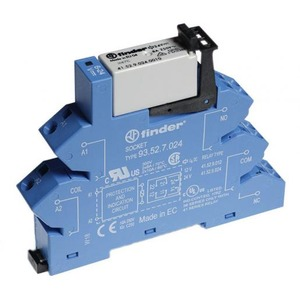 Finder INTERF.RELAIS 2W 8A 24VDC S.