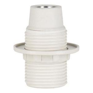 Bailey LAMPHOLDER E14 TP THREADED+RING WHITE