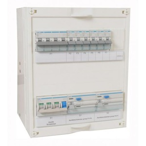 Hager EnergyBox 3f 6groepen+K 300x250 mm