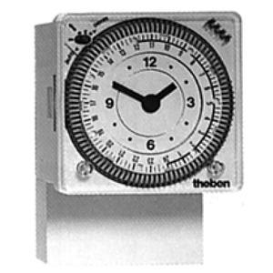 Theben analoge schakelklok voor paneelbouw 1kan. 1690801