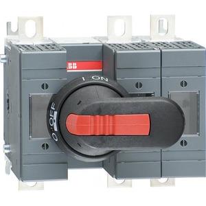 ABB Veilighedenlastscheider OS serie 160 A 3 polig, din 000, 00 mechanisme