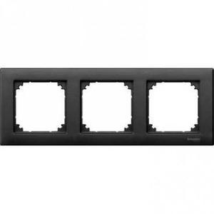 Merten M-PLAN Afdekraam 3V Antraciet IP20 MTN486314