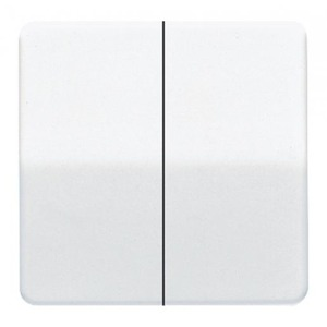 Jung Cd500 bedieningselement aan-/uit-schakelaar tweedelige wip wit cd595ww