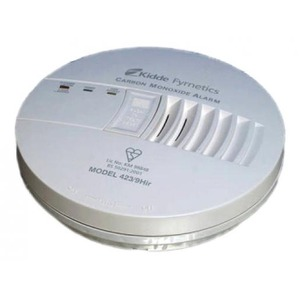 Kidde Koolmonoxidemelder 423/9hir 230v met 9v back-up batterij