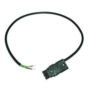 Hager Aansluitsnoer 3x1,5 mm2 16 A zwart 3 m
