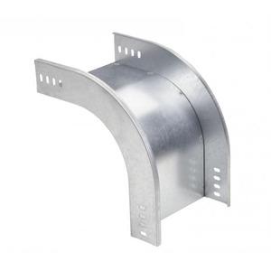 Stago KG281 Bocht/hoekstuk kabelgoot 90° 120x60mm 9016 CSU0866209916