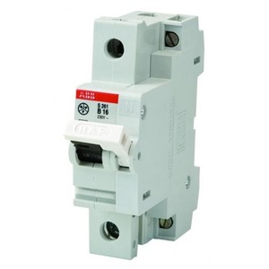 ABB Hafonorm Installatieautomaat B karakteristiek 16A 1p incl nul 1,5TE 7921.110