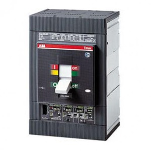ABB Tmax T5D 500 4P vast met vooraansluiting zonder beveiliging In = 500A