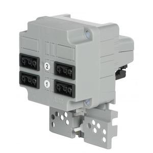 ABB Kabeldoos met 3-fase connector en 2x2 gst18