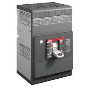 ABB Tmax T7D 1250 4P vast met vooraansluiting zonder beveiliging In = 125