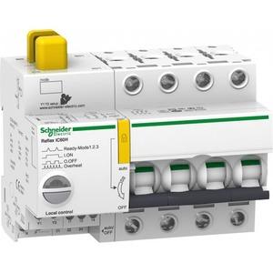 Schneider Electric REFLEX iC60H Ti24 10 A 4P D MCB+CONTROL
