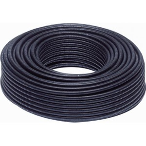 "Wavin PVC ELEKTRORIBBELBUIS ZWART 5/8"" L=100"