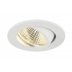 SLV DOWNLIGHT NIEUW TRIA LED ROUND WIT 3W LED 38° 3000K