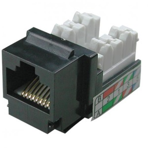 Klemko MOD CHASSIS FEMALE SNAPIN RJ45 CAT5