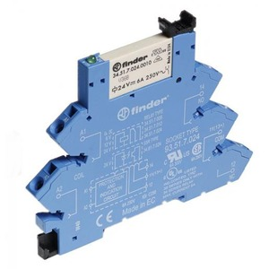 Finder INTERF.RELAIS 1W 6A 48VDC S.