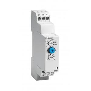 Crouzet Tijdrelais din-rail 17,5mm 1 omsch.relais 8a 20-30vdc-20-264vac 10 functies