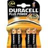 Duracell Batterij alkaline MN1500 AA penlite (blister 4 stuks)